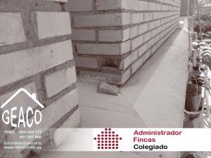 GEACO Administracion Fincas Sevilla Obras Urgencia 1